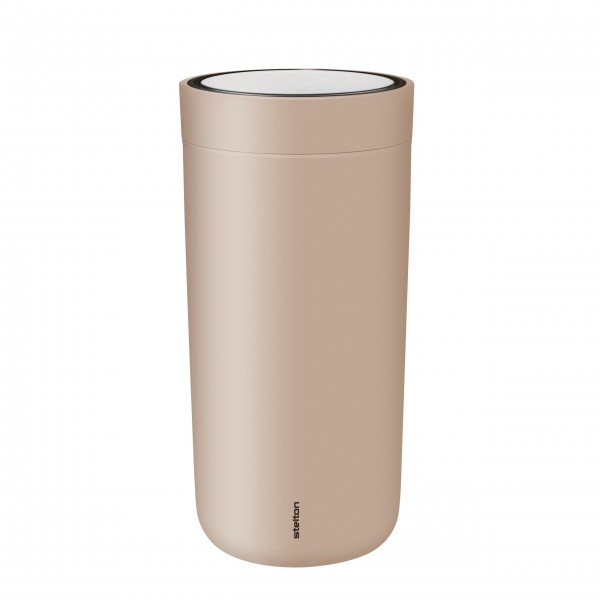 """Stelton Becher """"To Go Click"""" - 400 ml (Nude)"""