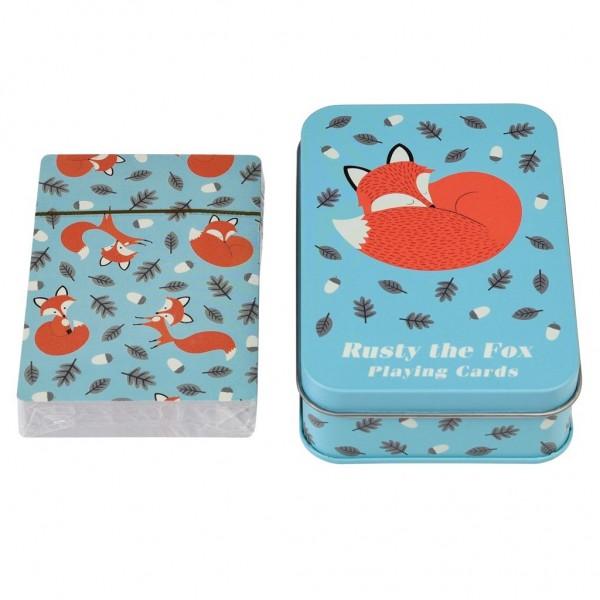 """Spielkarten """"Rusty the Fox"""" von Rex LONDON"""
