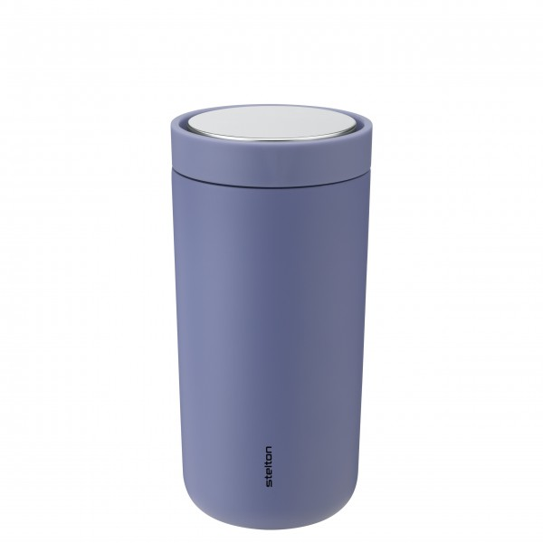 """Stelton Thermobecher """"To-Go Click"""" - 400 ml (Soft Lupin)"""