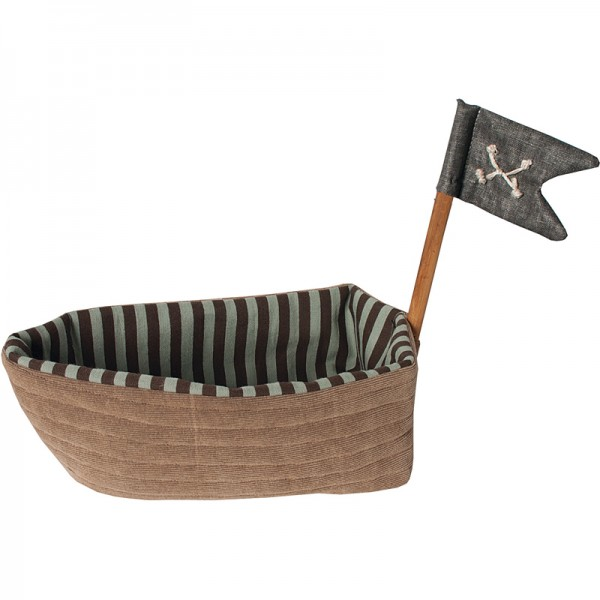 Maileg Piratenschiff aus Stoff (für Rasseln)