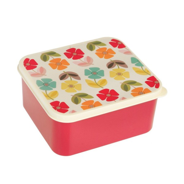 "Superhübsche Lunchbox ""Retro Flower"" im blumigen Look"