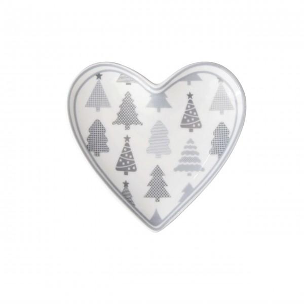 """Krasilnikoff-Teebeutelablage-""""Christmastrees""""-HEART386-1"""