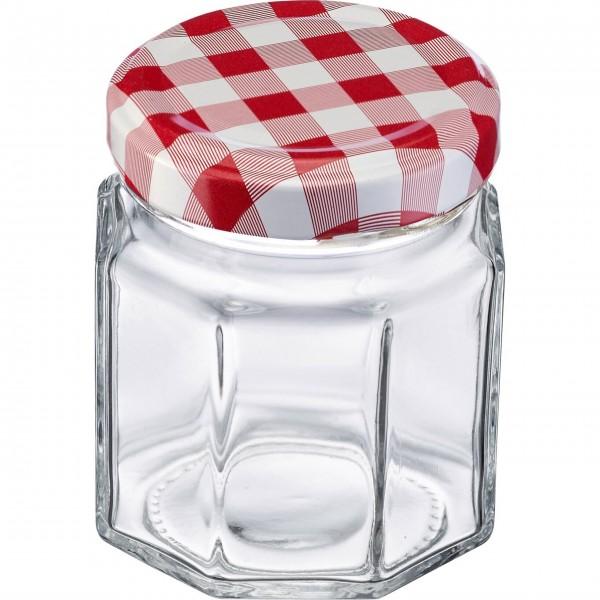Westmark Einmach-Gläser im Set (Transparent/Eckig) - 100 ml
