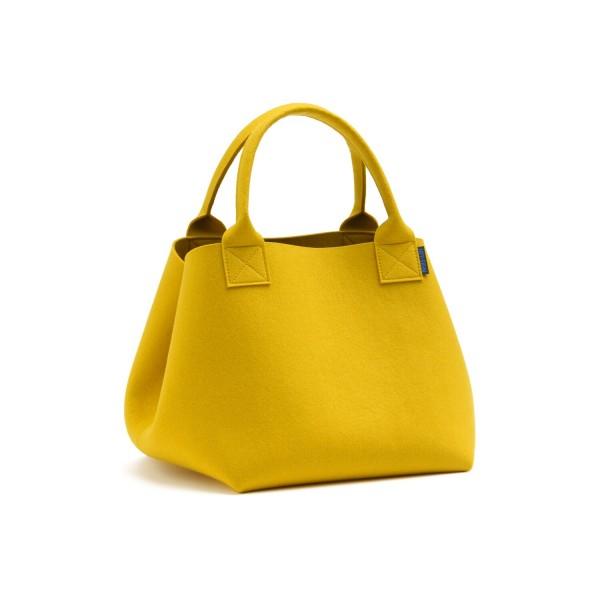 """Filz-Einkaufstasche """"Maxi"""" - 36x34x36 cm (Gelb/Curry) von HEY-SIGN"""