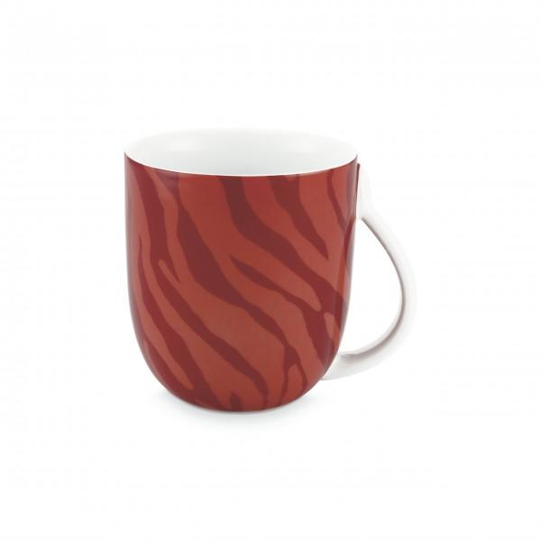 """FABIENNE CHAPOT Große Tasse """"Zebra Stripes"""" (Rot)"""