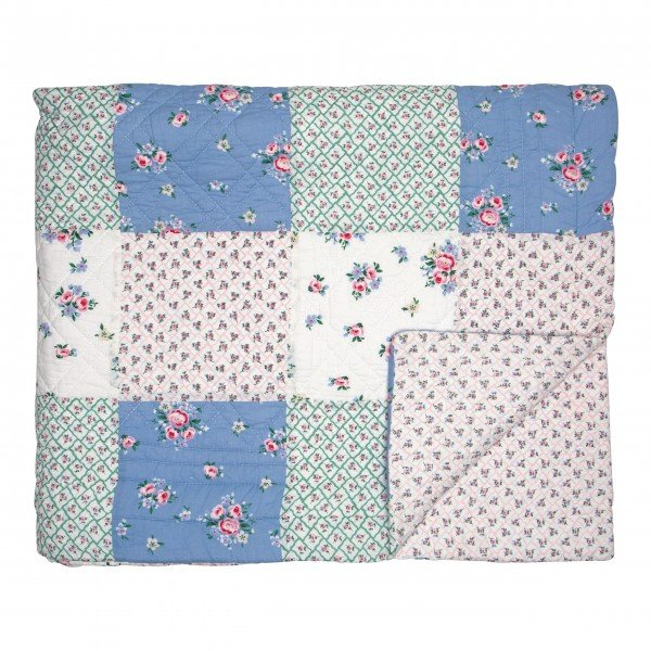 "GreenGate Quilt ""Nicoline - Patch"" (White)"