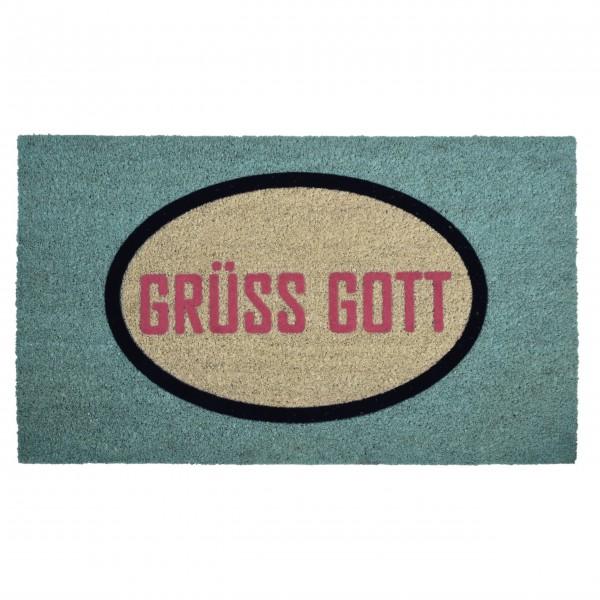 """Fußmatte """"ICONIC - Grüß Gott"""""""