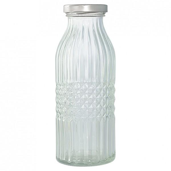 """GreenGate Glasflasche """"Milk"""" (Groß/Klein)"""