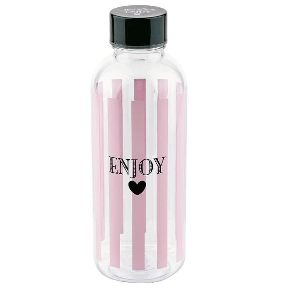 """Genießen Sie ihr Getränk mit der Wasserflasche """"Enjoy"""""""