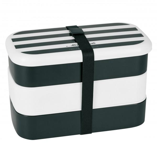 Gestreifte Lunchbox von Miss Étoile