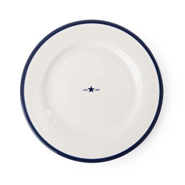 "Lexington Frühstücksteller ""Star"" (Blau/Weiß)"