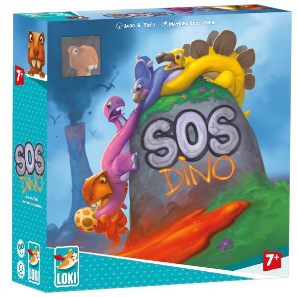 """Kinderspiel """"SOS Dino"""" von LOKI"""