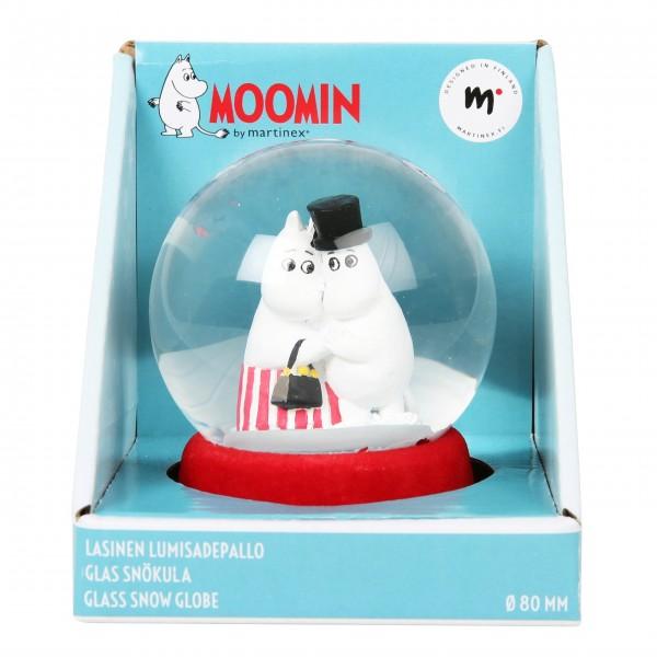"Schneekugel ""Moomin - Snowball Love"" von martinex-moomin"