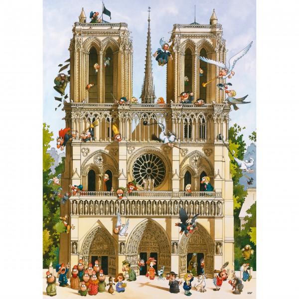 """Puzzle """"Vive Notre Dame!"""" von HEYE"""
