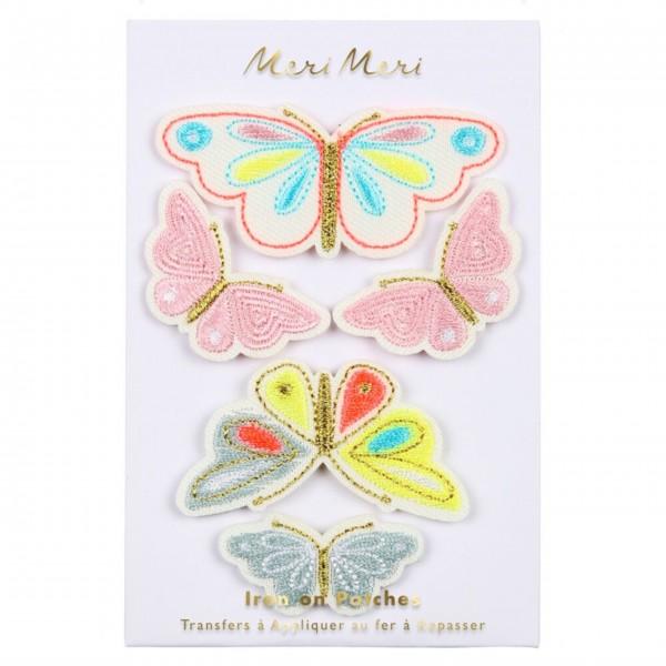 """Patches zum Aufbügeln """"Schmetterling"""" von Meri Meri"""