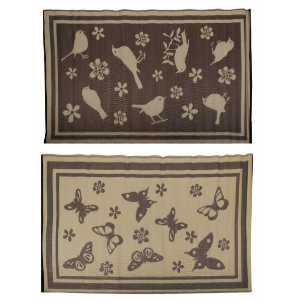 Hübscher Outdoor Teppich in zwei Designs