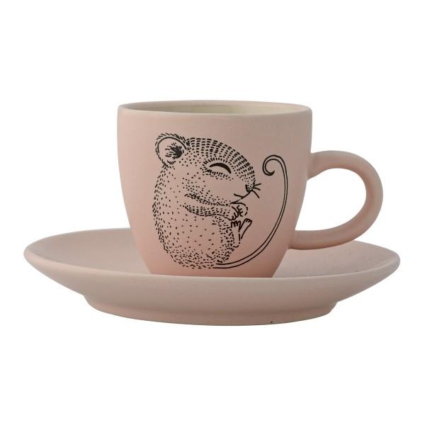 Zuckersüßes Mäuschen: Teetasse von Bloomingville