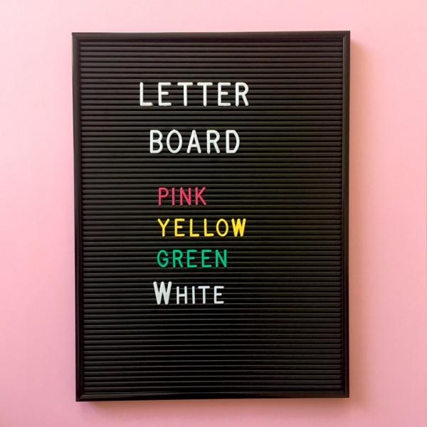 Omm Design Letterboard (Schwarz)