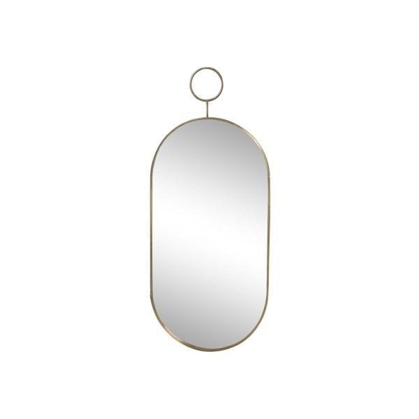 Chic Antique Spiegel mit Messingrahmen - Klein