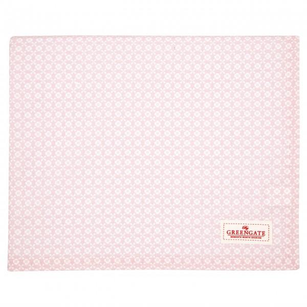 """GreenGate Tischdecke """"Helle"""" - 145x250cm (Pale Pink)"""