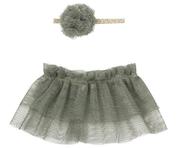 Maileg Tutu & Haarband für Mini-Hasen (Petrol)