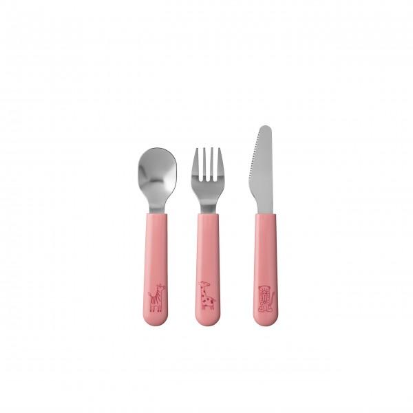"""Mepal Kinder-Besteckset """"Mio"""" (Deep Pink) - 3-tlg."""