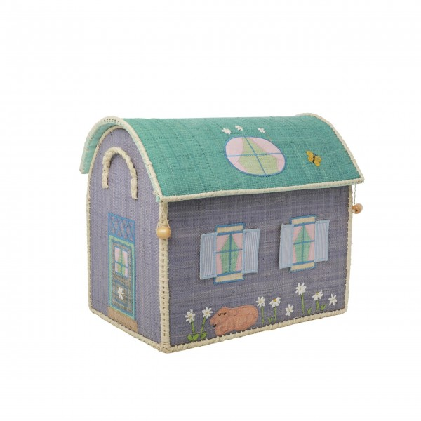 "rice Spielzeugkorb ""House"" - S"