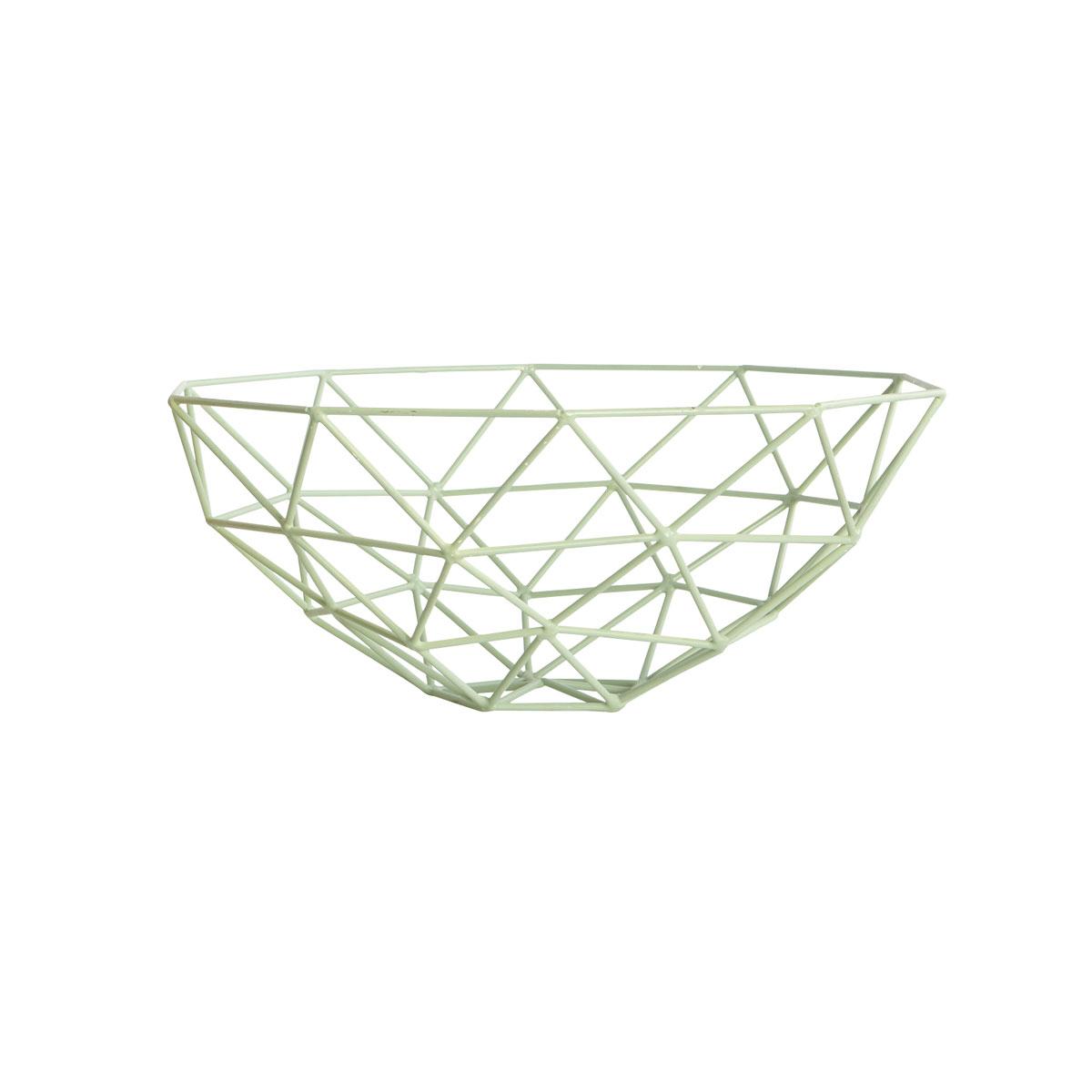 house doctor korb schale triangle mint. Black Bedroom Furniture Sets. Home Design Ideas