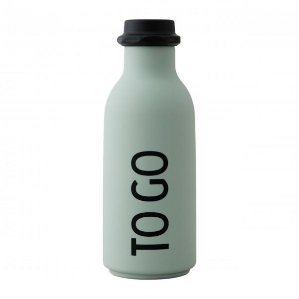 Design Letters Wasserflasche To Go - 500ml (Hellgrün)