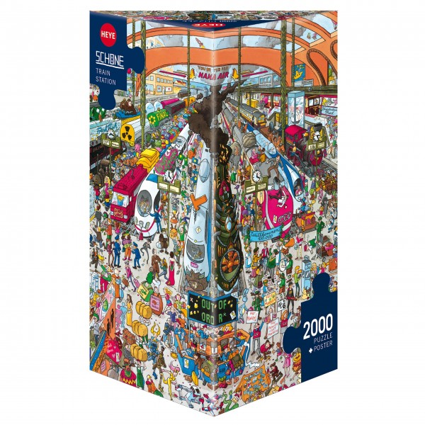 "Puzzle ""Train Station"" von HEYE"