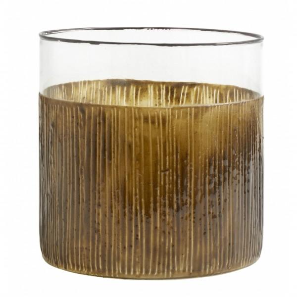 Dieses hübsche Nordal Dekoelement kann als Windlicht oder als Vase verwendet werden