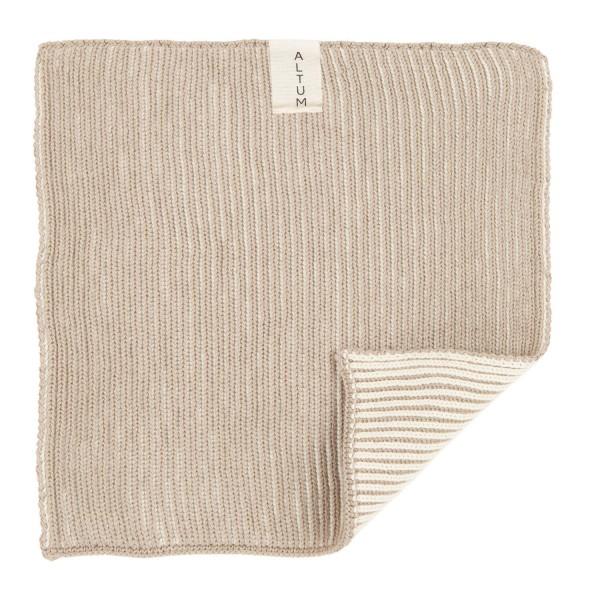 Waschlappen aus reiner, gestrickter Baumwolle: von Ib Laursen
