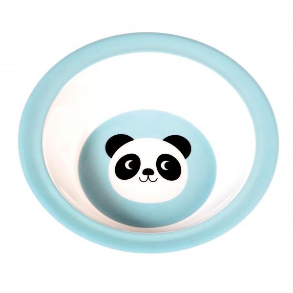Kleine Melaminschale mit süßem Panda-Gesicht