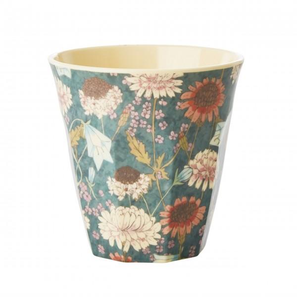"Rice Melamin Becher ""Fall Flower Print""-1"