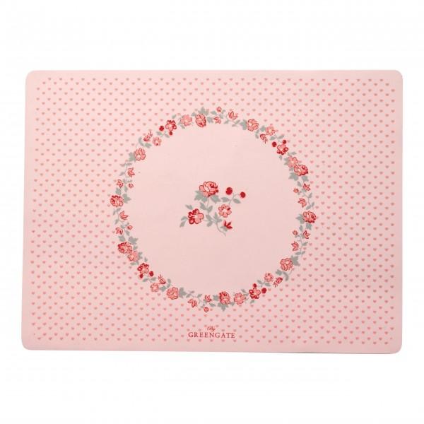 "GreenGate Kinder-Platzset ""Ruby Petit"" (Pale Pink)"
