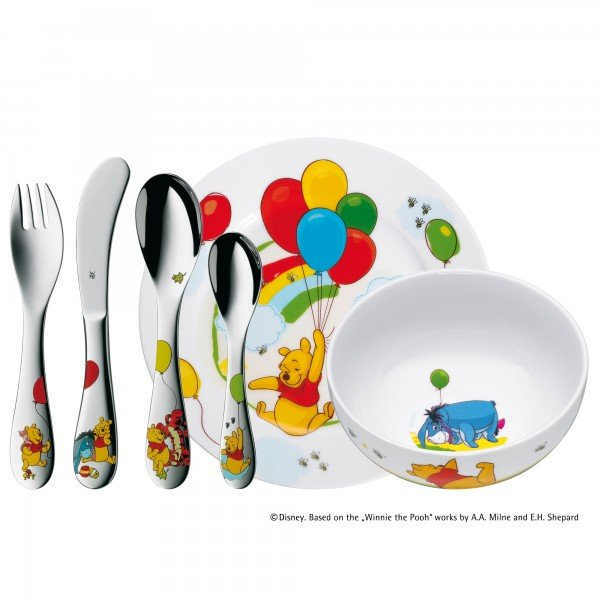 Ideal für Kinder ab 3 Jahren - das Kindergeschirr-Set Winni Pooh