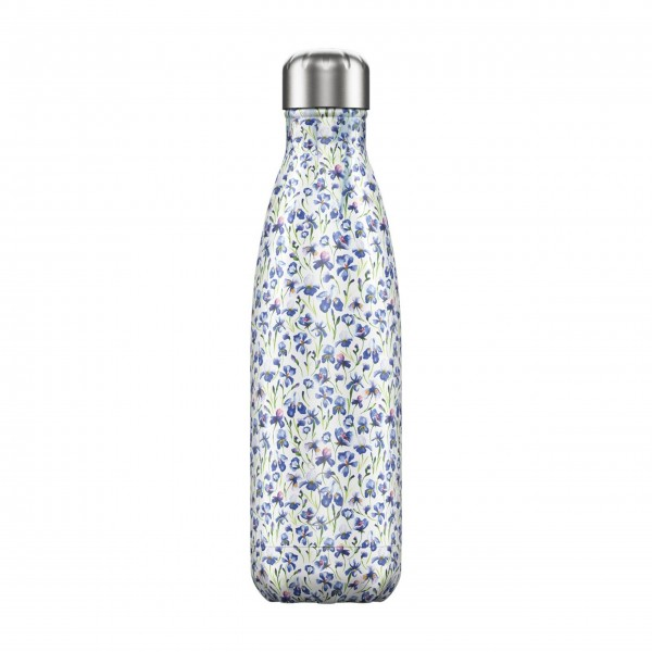 """CHILLY'S Bottle Isolierflasche """"Floral Iris"""" - 500 ml"""