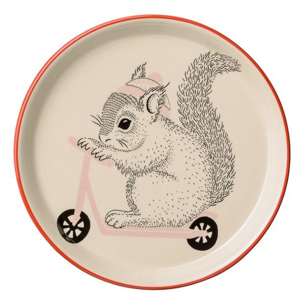 Süßer Keramikteller von Bloomingville