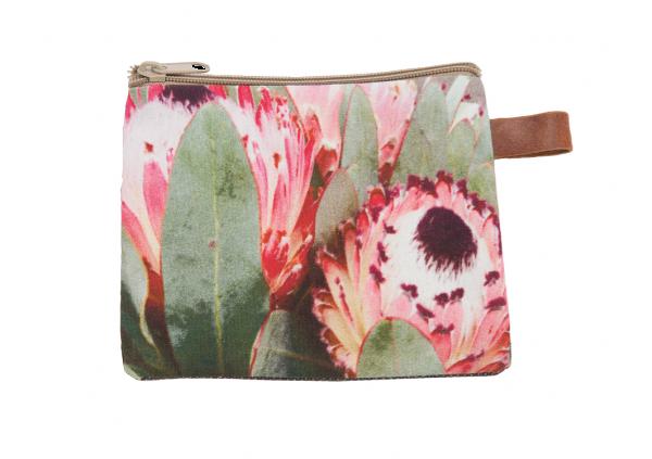 """AU Maison Kosmetiktasche """"Flower Sand"""" (Pink/Grün)"""