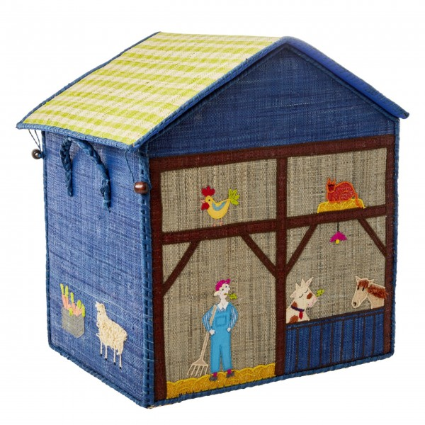 """Rice Spielzeugkorb """"Farm"""" - Groß-1"""