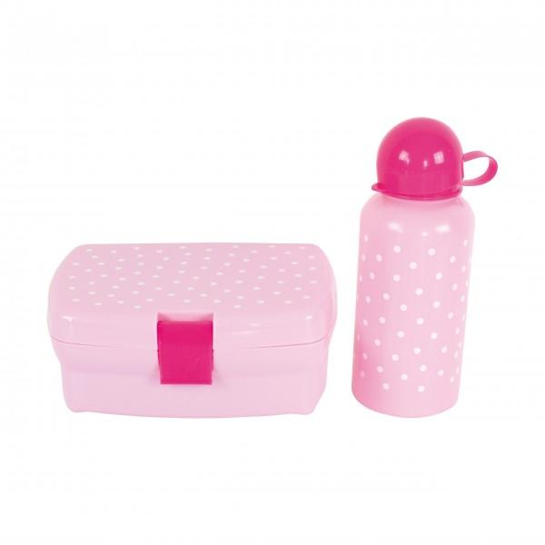 JaBaDaBaDo Lunch-Box & Trinkflasche (Pink)
