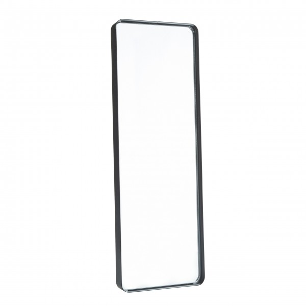 Spiegel mit schwarzem Rand 60x20cm von Bahne