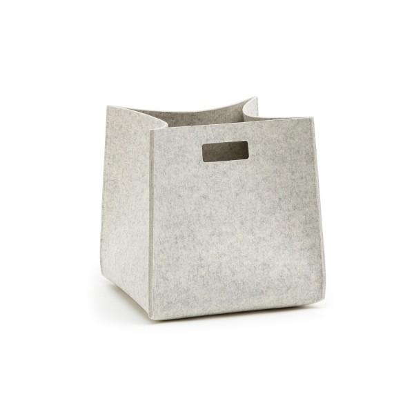 Filz-Tall-Box - S (Hellgrau/Marmor) von HEY-SIGN