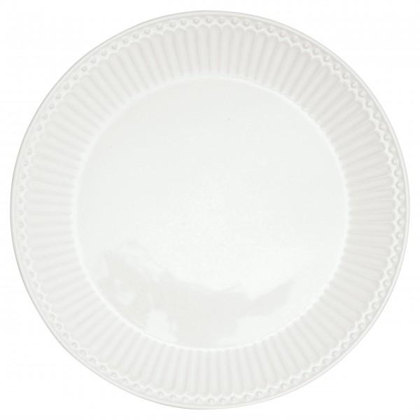 """GreenGate Frühstücksteller """"Alice"""" (White)"""