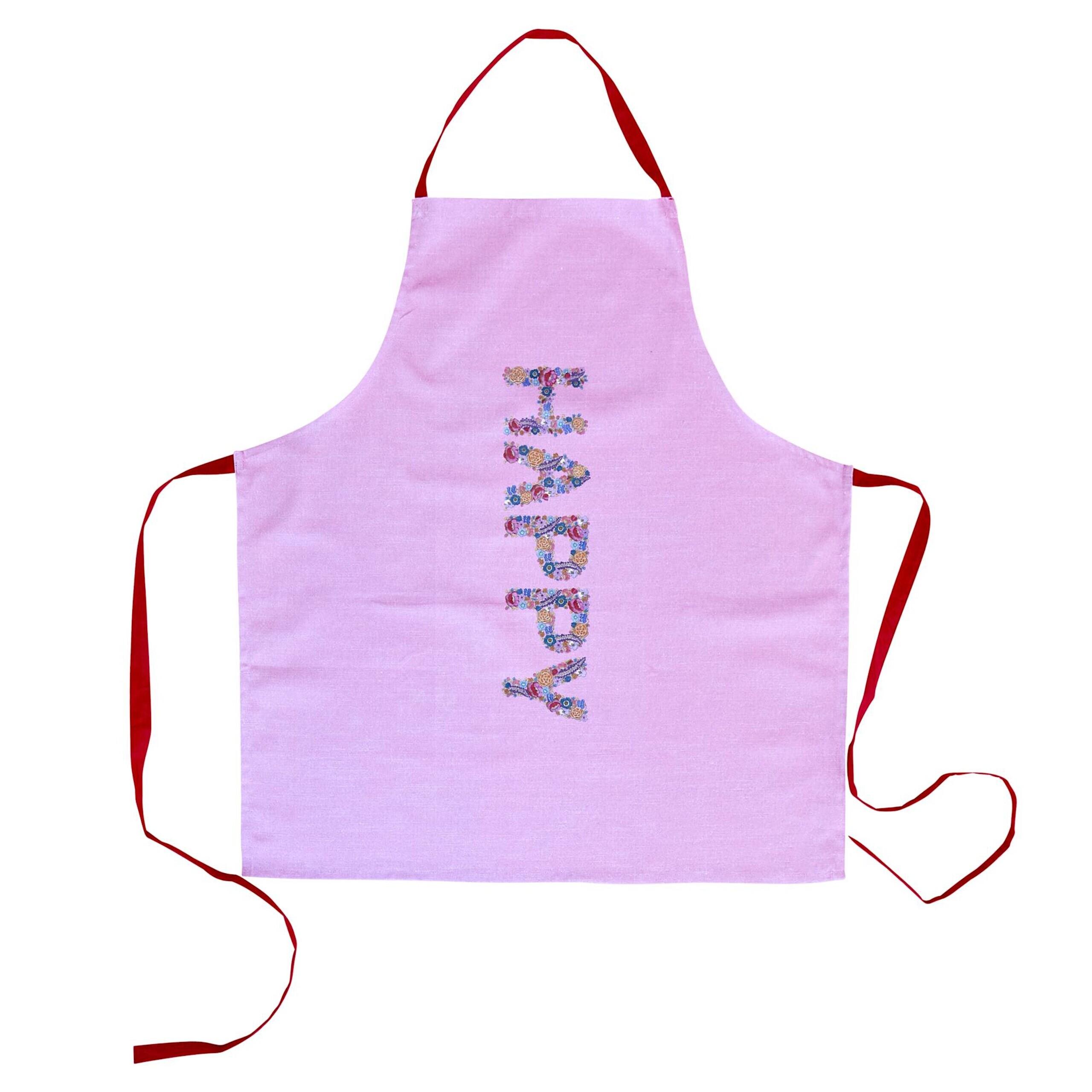 Rice Kochschurze Happy Pink Bunt