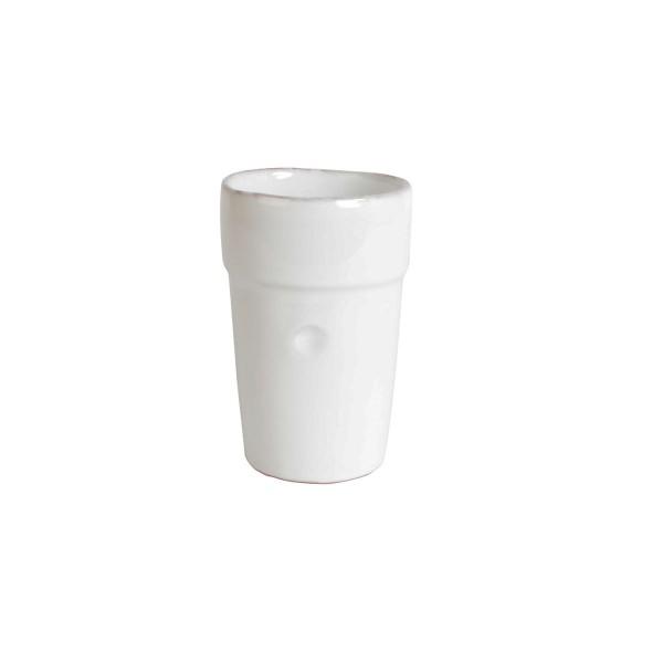 "CASAgent ""Campagna"" Latte Becher (Bianco)"