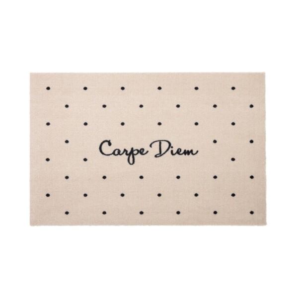 """Fußmatte """"Carpe Diem"""" (Creme) von Gift Company"""