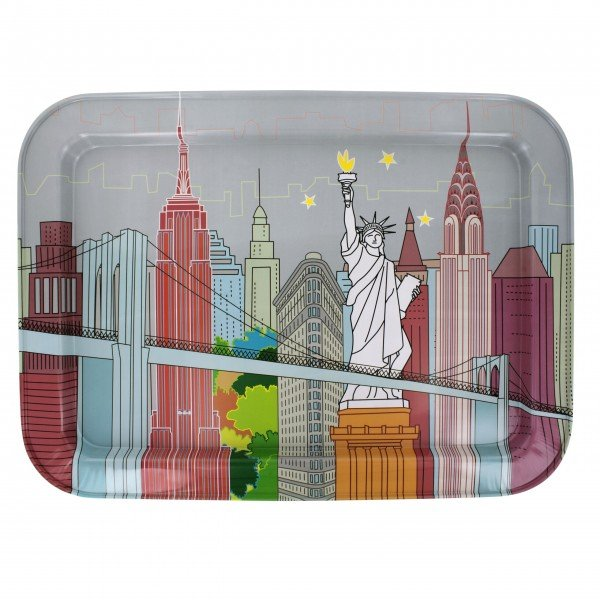 "Pylones Serviertablett ""New York"""
