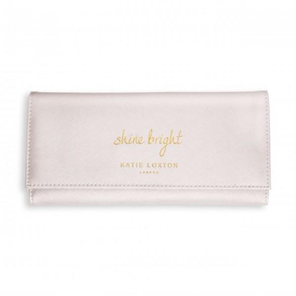 """Hier hat wirklich alles Platz - die Schmuckrolle """"Shine Bright"""" (Weiß) von KATIE LOXTON ist absolut praktisch und hübsch obendrein!"""
