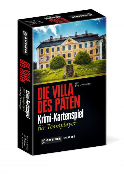 """Gesellschaftspiel """"Die Villa des Paten"""" von Gmeiner"""